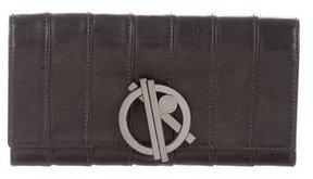 Reed Krakoff Metallic Paneled Wallet
