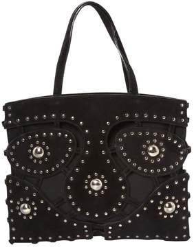Alaia Black Suede Handbag