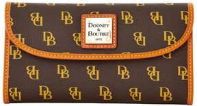 Dooney & Bourke Gretta Continental Clutch - BROWN TMORO - STYLE