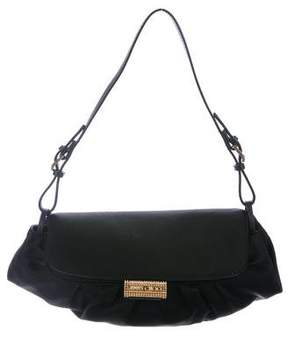 Jimmy Choo Pleated Satin Mini Bag