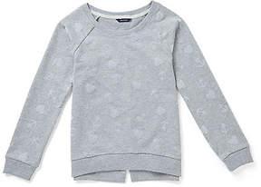 Nautica Toddler Girls' Anchor & Heart Sweatshirt (2T-3T)