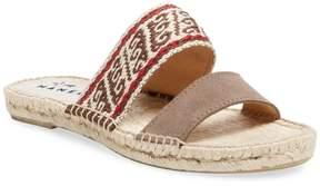 Manebi Women's Double Strap Espadrille Sandal
