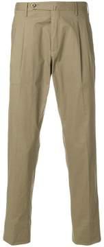 Pt01 front pleat trousers