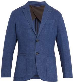 Ermenegildo Zegna Single-breasted linen blazer