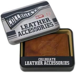 NCAA North Carolina Tar Heels Leather Bifold Wallet
