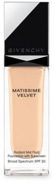 Givenchy Mattissime Velvet Radiant Mat Fluid Foundation SPF 20/1.0 oz.