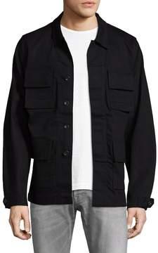 BLK DNM Men's 76 Spread Collar Jacket