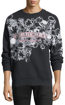 Burberry Squiggles Logo Sweatshirt