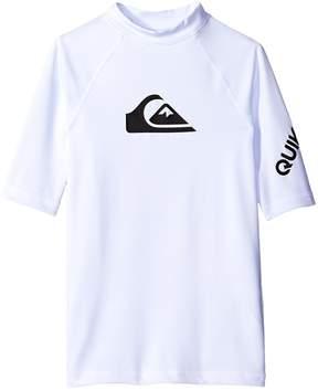Quiksilver All Time Short Sleeve Shirt Boy's Swimwear