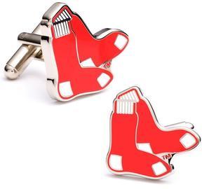 Ice Red Sox Cufflinks