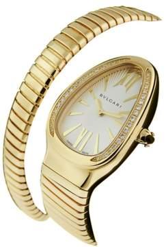 Bulgari Serpenti Tubogas sp35c6gdg.1t 18K Yellow Gold Watch