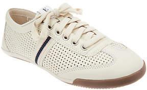ED Ellen Degeneres Leather Lace-up Sneakers -Escondido