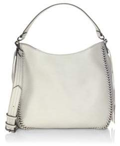 Rebecca Minkoff Unlined Convertible Leather Hobo Bag - PUTTY - STYLE