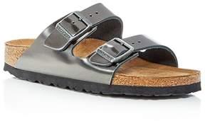 Birkenstock Women's Arizona Leather Slide Sandals
