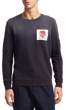 Kent & Curwen Rose Crewneck Sweatshirt