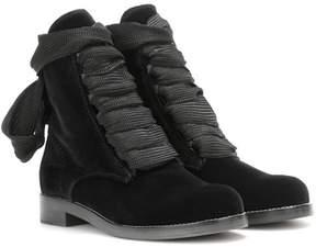 Chloé Harper velvet ankle boots
