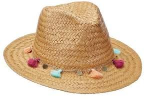 Scala Women's LT197 Toyo Safari Hat with Tassel