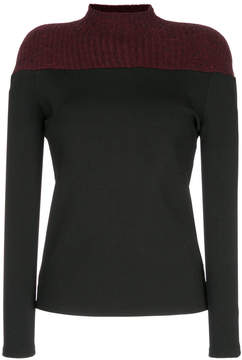 CHRISTOPHER ESBER Block Yoke sweatshirt