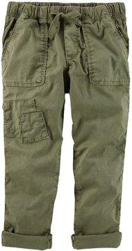 Osh Kosh Girls 4-12 Olive Pants