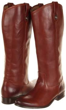 Frye Melissa Button Boot Extended Cowboy Boots