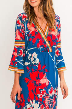 Flying Tomato Isabella Flower Maxi Dress
