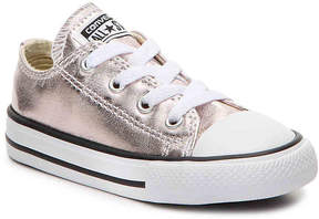 Converse Girls Chuck Taylor All Star Metallic Toddler Sneaker