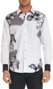 Robert Graham Corporal Classic Fit Floral Sport Shirt