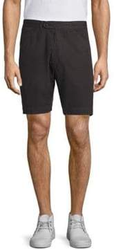 Officine Generale Solid Faded Deck Shorts
