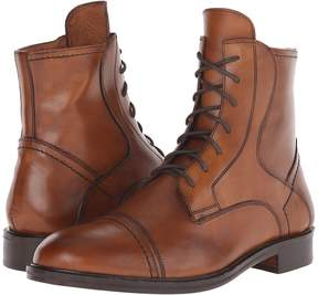 Matteo Massimo 7-Eye Cap Toe Boot Men's Boots