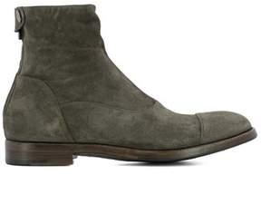 Alberto Fasciani Men's Grey Suede Ankle Boots.