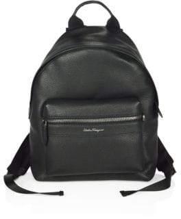 Salvatore Ferragamo Float Tumbled Backpack