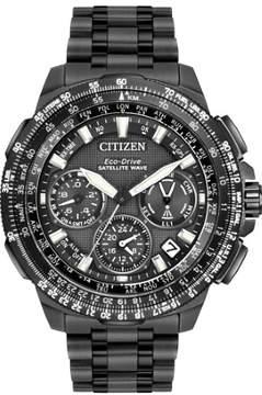 Citizen Promaster Navihawk GPS CC9025-85E Black / Grey Titanium Analog Eco-Drive F900 Men's Watch