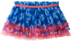 Baby Starters Baby Girl Floral Ruffle Tulle Skirt