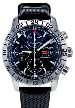 Chopard Mille Miglia 8992 Stainless Steel & Rubber Black Dial Automatic 42mm Men