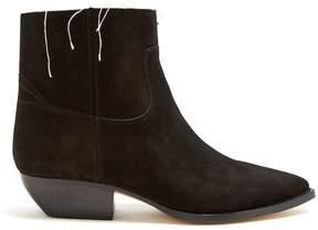 Saint Laurent Theo suede chelsea boots