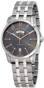 Maurice Lacroix Pontos Day Date Automatic Grey Dial Men's Watch