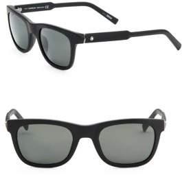 Montblanc Matte Wayfarer Sunglasses