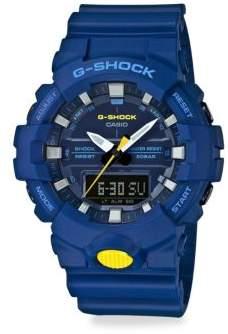 G-Shock Shock & Water Resistant Slim Strap Watch