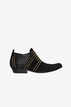 Anine Bing Low Charlie Boot Gold