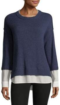 Brochu Walker Looker Layered Crewneck Sweater