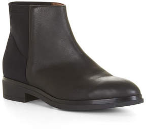 BCBGMAXAZRIA Collin Slip-On Leather Low Boot