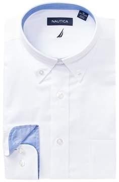 Nautica Oxford Classic Fit Dress Shirt