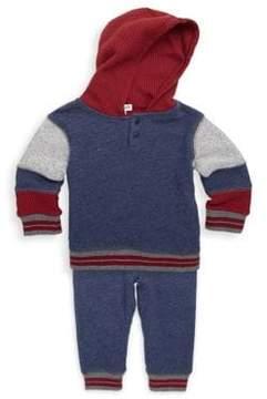 Splendid Toddler's & Little Boy's Two-Piece Cotton Hoodie & Pants Set