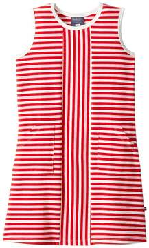 Toobydoo Red Stripe Alexia Dress (Toddler/Little Kids/Big Kids)
