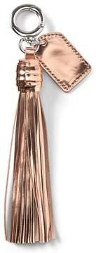 Banana Republic Metallic Leather Bag Tassel
