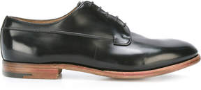 Premiata Book Brass derbies