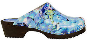 Cape Clogs Hydreangea Style Clogs