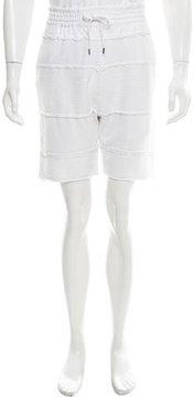 Alexandre Plokhov Waffle Knit Paneled Shorts