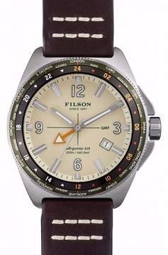 Filson F0110000318 Stainless Steel Shinola Beige Dial 44mm Mens Watch