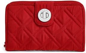 Vera Bradley RFID Turnlock Wallet - VERA VERA CARDINAL RED - STYLE